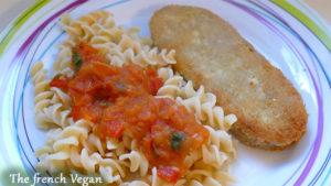 Escalopes viennoises - Wiener Schnitzel - Vegan version