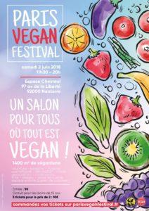 Paris Vegan festival Nanterre 2 juin 2018