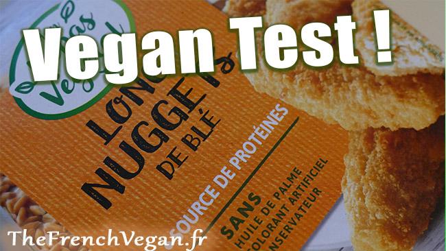 Test nuggets mon repas vegetal