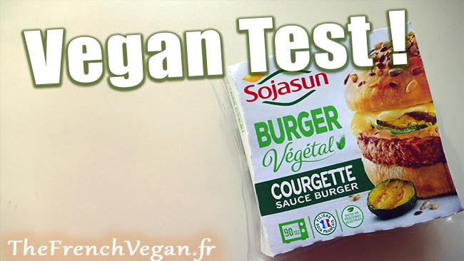 Burger Végétal Courgette Sauce burger de SojaSun